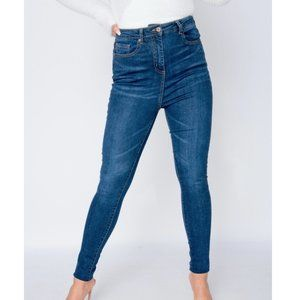 High Waist Skinny Denim Jeans